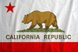 Flag Of California Republic, USA