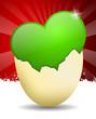 Herz, Ei, Ostern, Liebe, Hintergrund