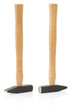 Hammer on white, clipping path included