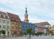 Leinwanddruck Bild - Old Market square (Alter Marktplatz), Offenburg, Germany