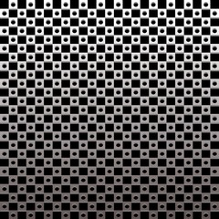 Metallic Plate Pattern