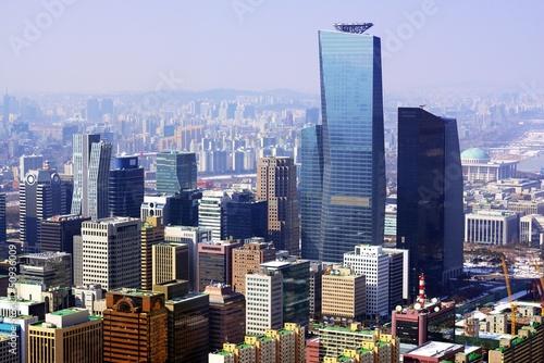 Poster City of Seoul Korea