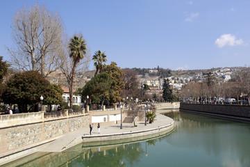 Stadtansicht von Granada