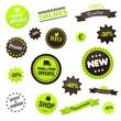 Série de badges écolos