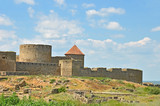 Ancient Akkerman fortress at Belgorod-Dnestrovsky, Ukraine