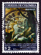 Postage stamp Colombia 1968 The Dream of the Prophet Elias