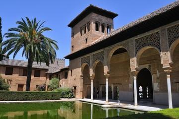 El Partal en La Alhambra, Granada.