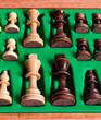 Schachkoffer - König & Königin