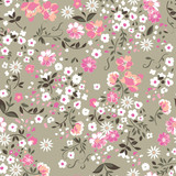 cute white ditsy seamless background