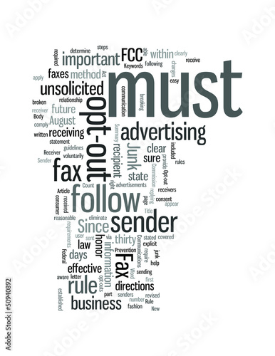 FCC Junk Fax rule New Fax rule is effective August