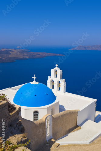 Santorini church - Greece