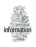 Identity Theft IRS Warns Public about Email Scams poster
