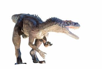 Restoration of a Herrerasaurus dinosaur isolated