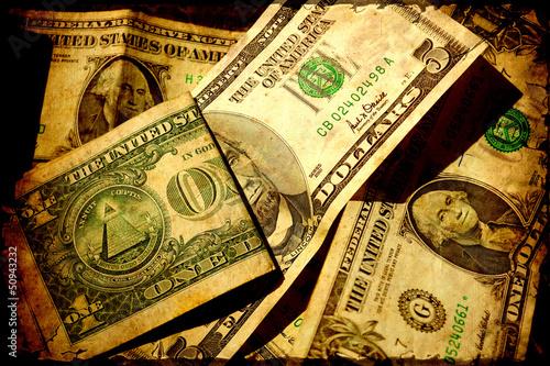 Retroplakat - Dollars I