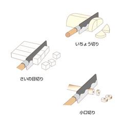 包丁⠂切り方