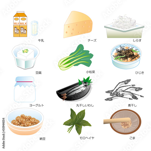 栄養食材集
