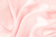 Pink silk fabric background - soft and elegant