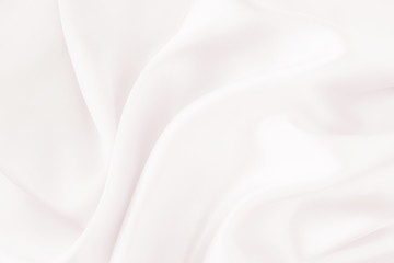 White soft silk fabric - wedding theme concept