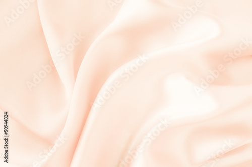 Ecru or beige silk fabric background - soft and elegant