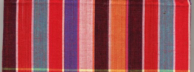 Fashion of colorful square fabric.