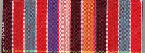 Fashion of colorful square fabric.