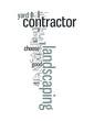 Постер, плакат: Landscaping Contractor
