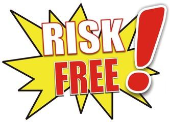 étiquette risk free