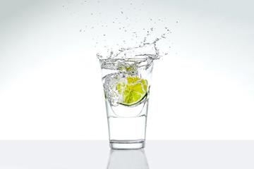 Frische Zitrone splash