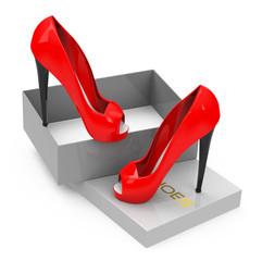 Der Schuhkauf