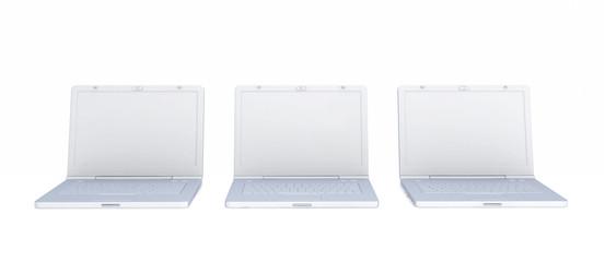 Modern notebooks.