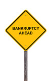 Caution - Bankruptcy Ahead poster