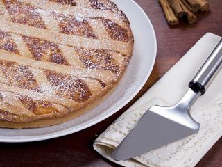 Pastiera napoletana dolce tipico alla ricotta