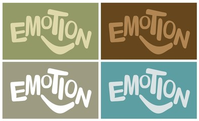 EMOTION - Illustration set