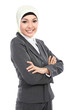 Muslim business woman