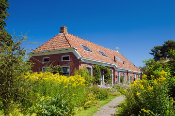 Houses in Dutch Groningen