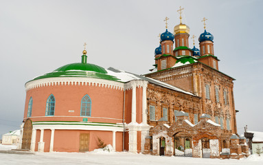 A old orthodox church in Usolie, Perm, Russia