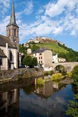 City of Saint-Flour, France