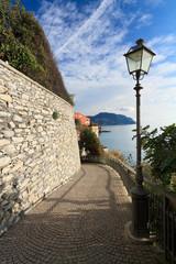 Liguria - promenade in Sori, Italy