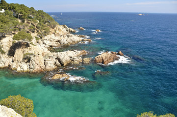 Mar Mediterráneo, Costa Brava, Cataluña, Spain