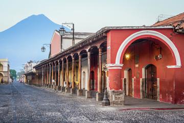 Colonial buildings Antigua, Guatemala