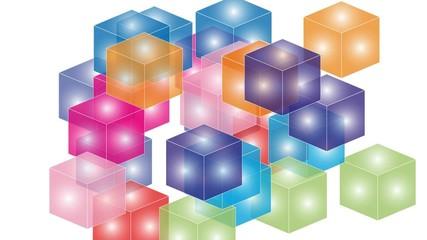 Cube, Quader, Rechteck, Bewegung