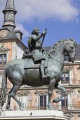 philip III equestrian statue
