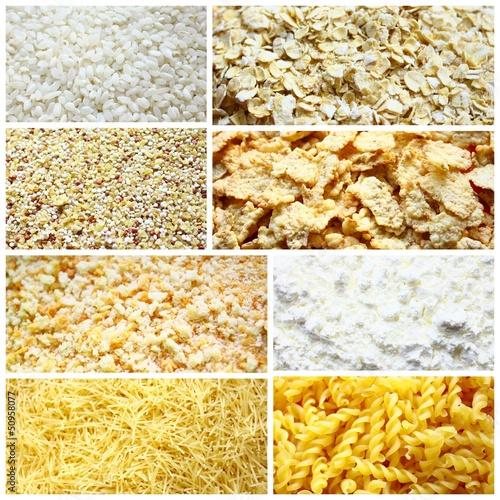 montage de céréales