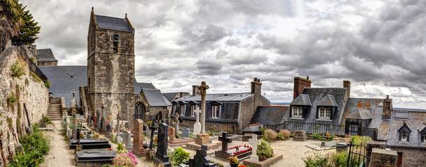 Cimitero di Mont Saint Michel - Normandia