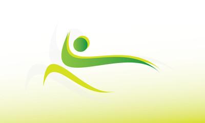 Fitness logo vert