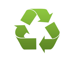 Recycle icon green