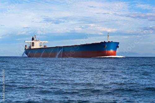 Tanker in the ocean - 50965005