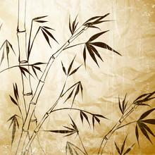 La peinture de bambou