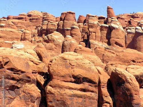 Formacje skalne w Arches National Park, Utah