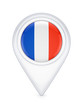 Icon with french flag.